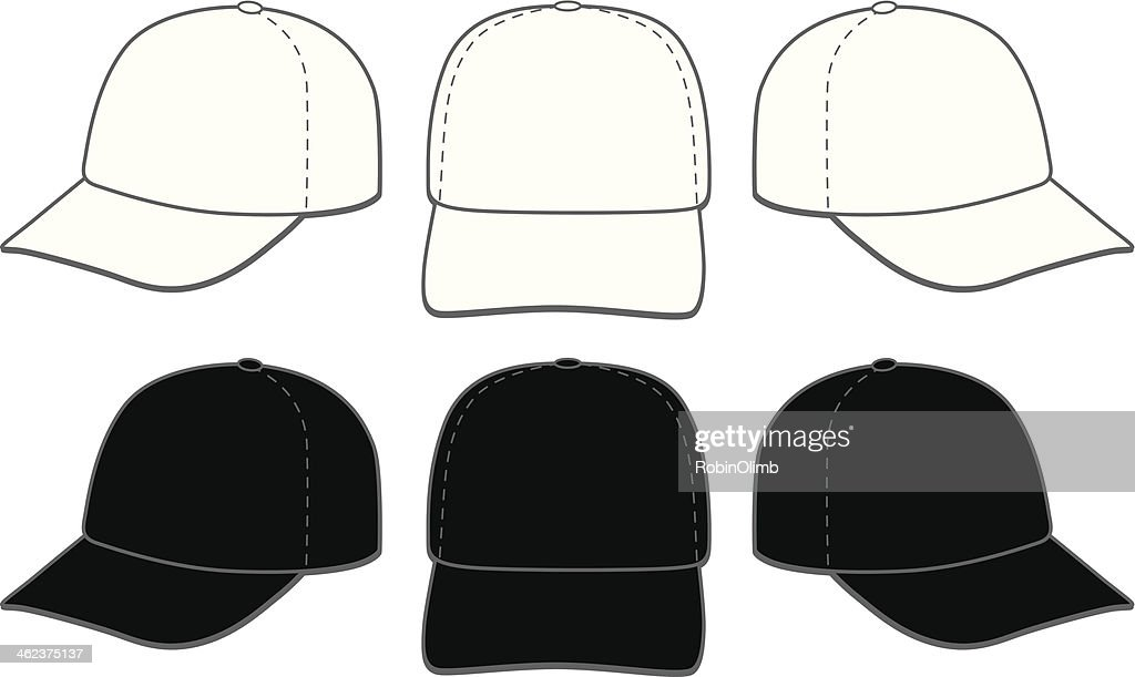 baseball cap vector art and graphics getty images rh gettyimages com cap vector template cap vector template