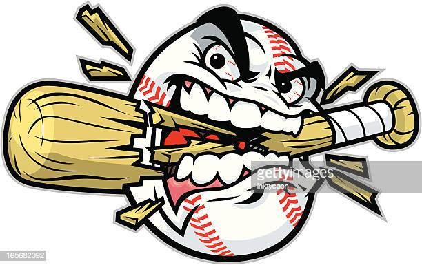 baseball crunch - baseball stock illustrations, clip art, cartoons, & icons
