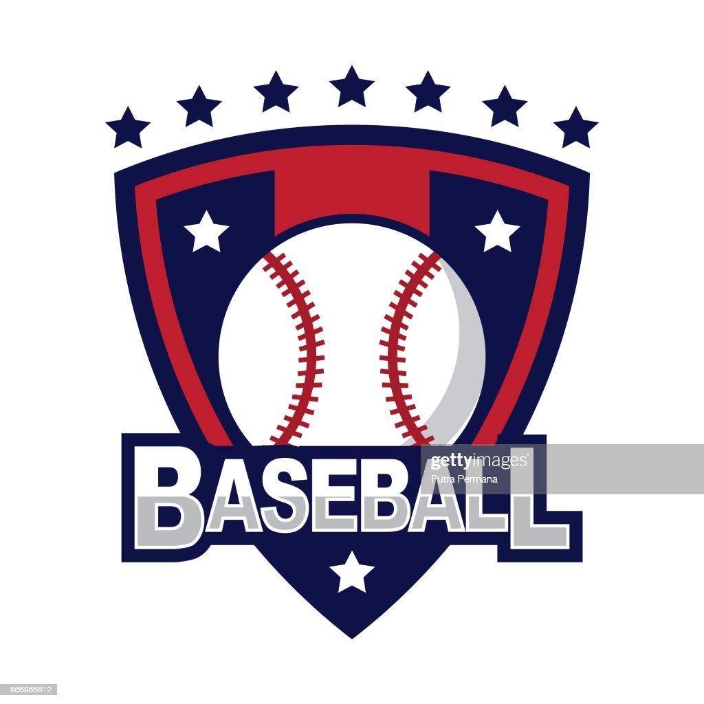 Baseball design template