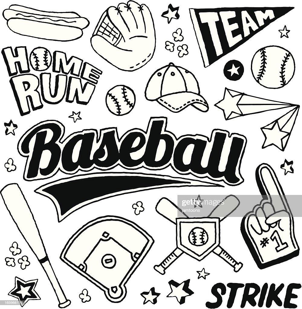Baseball Doodles