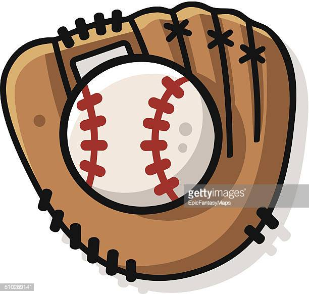 baseball glove stock illustrations and cartoons getty images