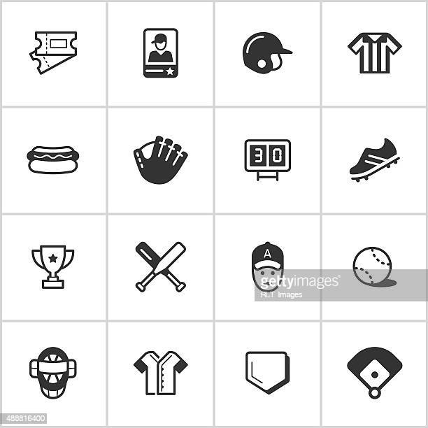 Baseball Icons — Inky Series