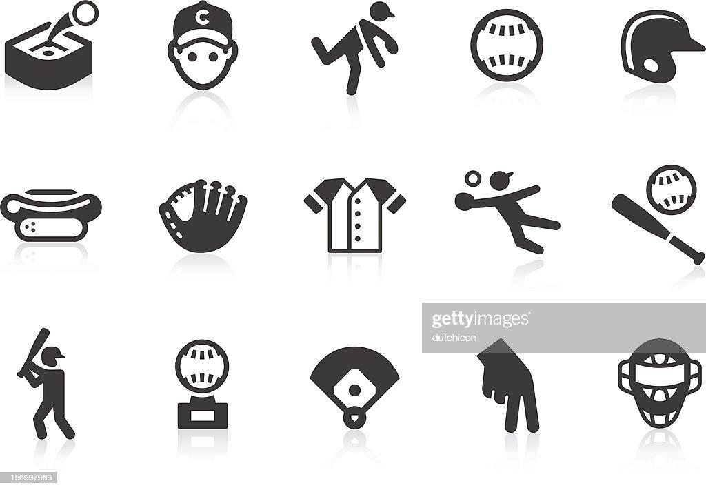 Baseball icons