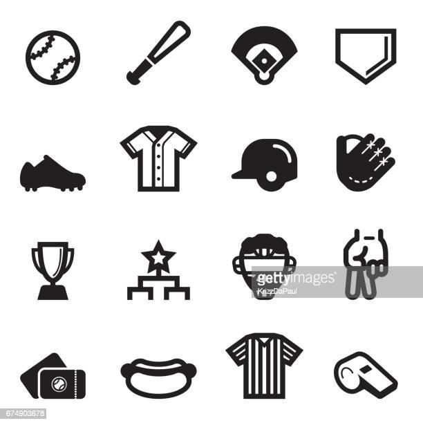 野球のアイコン - スポーツユニフォーム点のイラスト素材/クリップアート素材/マンガ素材/アイコン素材
