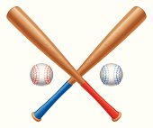 Baseball items.