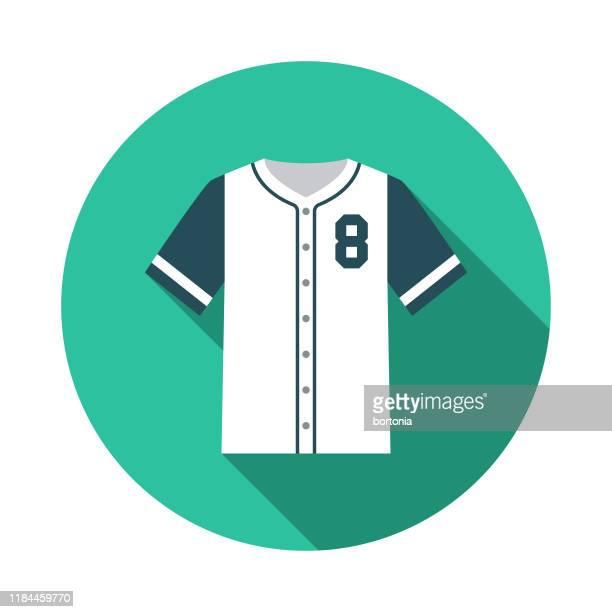 野球ジャージーアイコン - 野球のユニフォーム点のイラスト素材/クリップアート素材/マンガ素材/アイコン素材