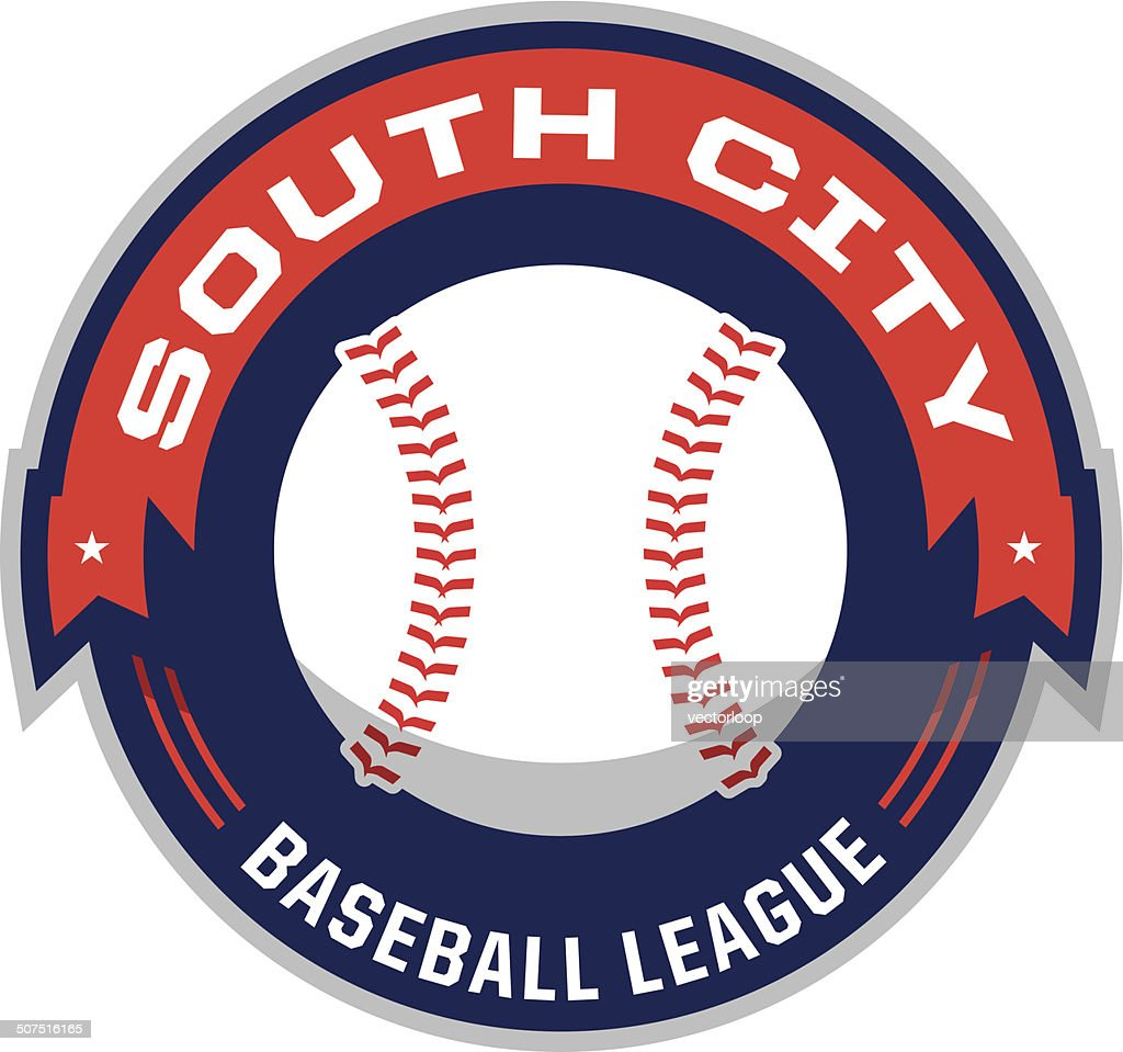 Baseball League Logo