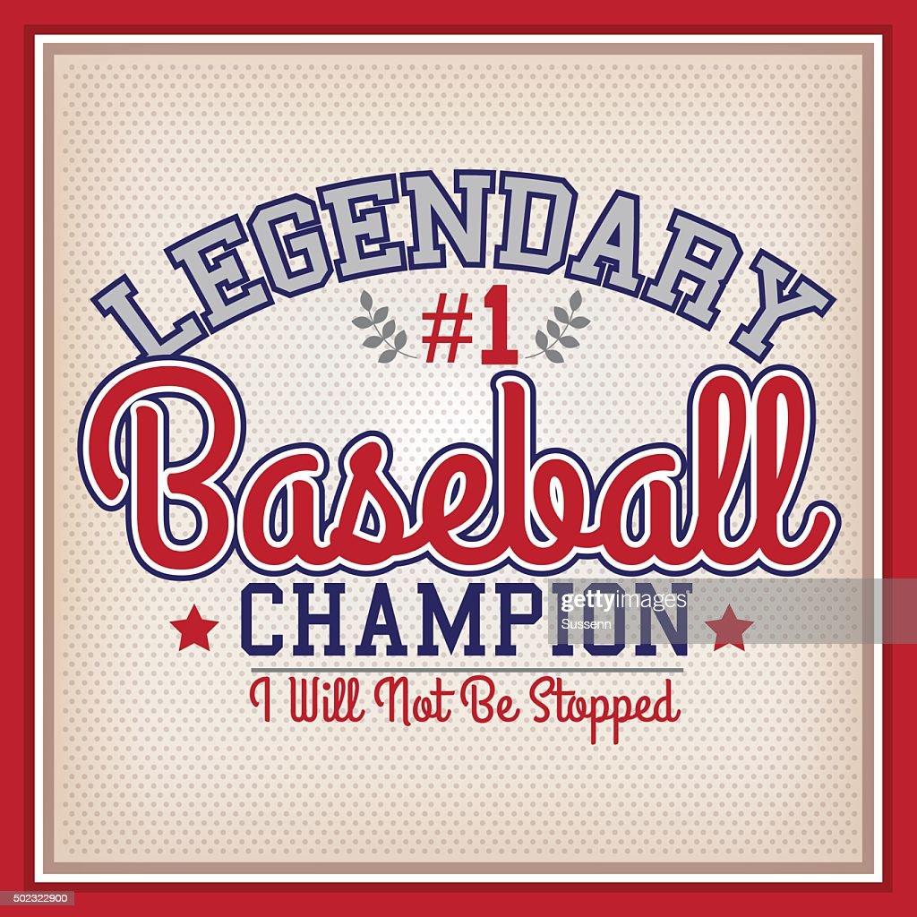 Baseball Legendary Champion