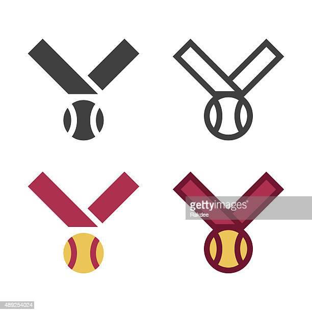 Baseball Medal Icon