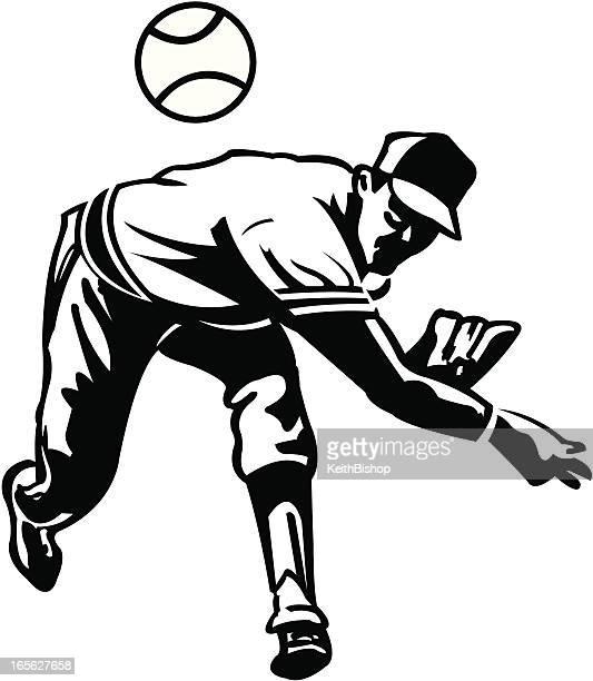 Baseball Pitcher Stock Illustrations And Cartoons