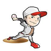 Baseball - Pitcher pose
