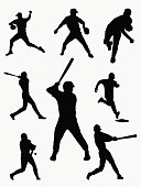 baseball player Pictograms people Man Icon Sign Symbol