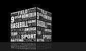 Baseball Relative Words Cloud