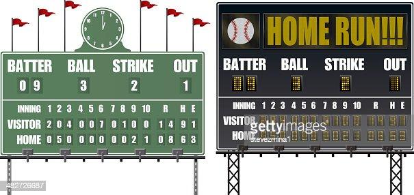 Baseball Punkte