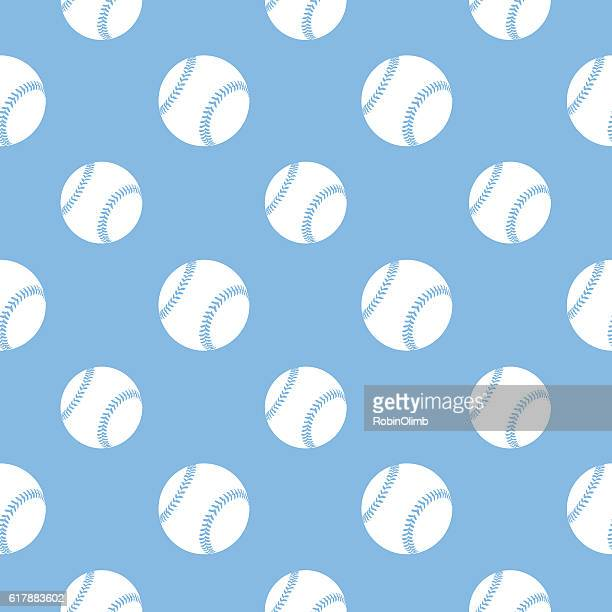 baseball seamless pattern - baseball stock illustrations, clip art, cartoons, & icons