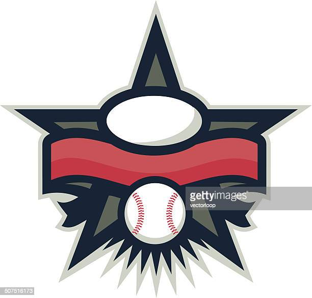 Baseball Star Logo