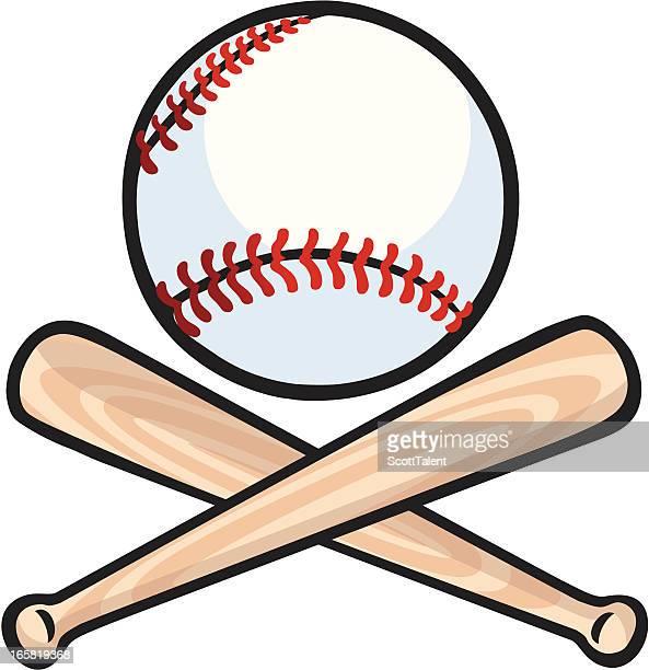 ilustraciones, imágenes clip art, dibujos animados e iconos de stock de bate de béisbol - bate de béisbol