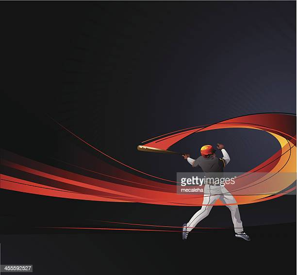 baseballer - baseball sport stock illustrations