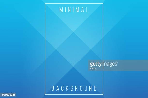 Basic Blue Minimal Elegant Abstract Lineer Crease Pattern Vector Background