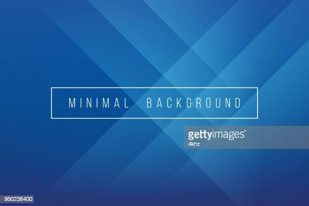 basic blue minimal elegant abstract lineer crease pattern vector background - harmony stock illustrations