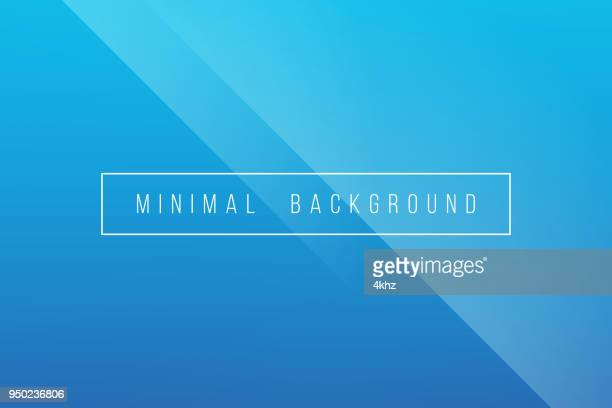basic blue minimal elegant abstract lineer crease pattern vector background - crumpled stock illustrations