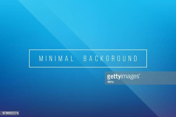 Basic Blue Minimal Elegant Abstract Lineer Crease Pattern Vector Background