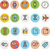 Basic Colored Vector Icons 2