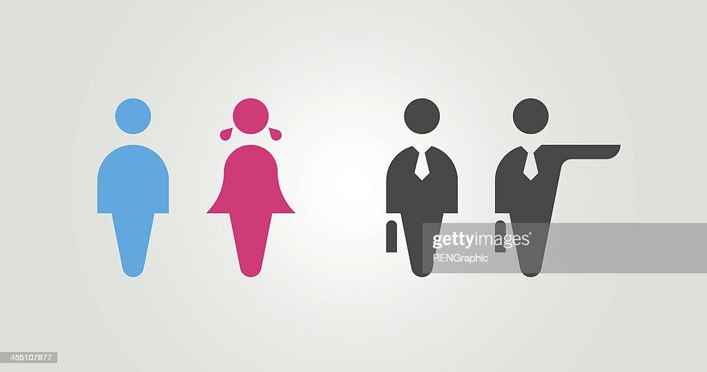 Basic human image : stock illustration