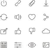 Basic Interface Icons