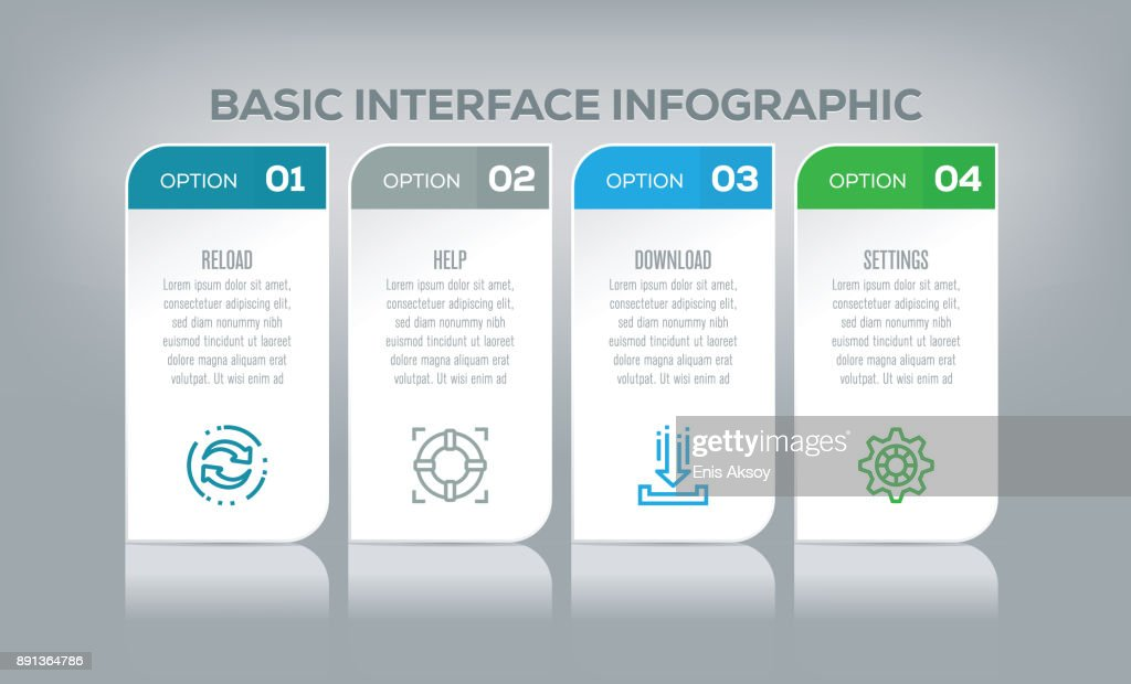 Basic Interface Infographic