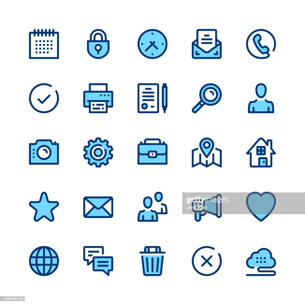 Basic line icons set. Modern graphic design concepts, simple symbols, linear stroke web elements, pictograms collection. Minimal thin line design. Premium quality. Pixel perfect. Vector outline icons