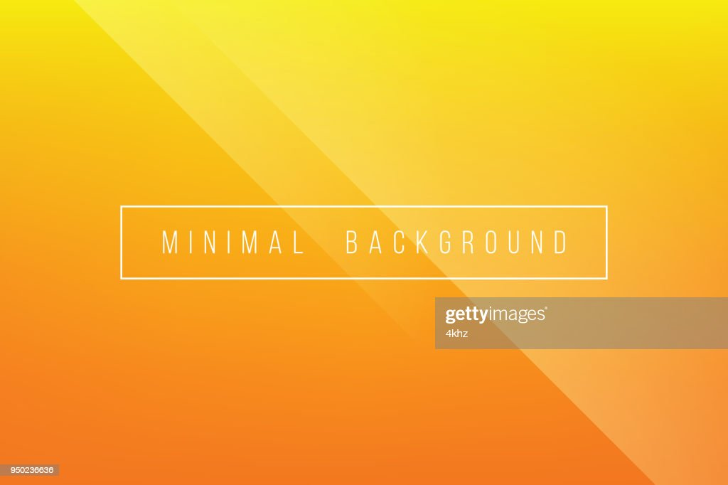 Grundlegende Orange Minimal eleganten abstrakten Lineer Falte Muster Vector Hintergrund : Stock-Illustration