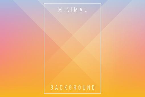 Basic Orange Minimal Elegant Abstract Lineer Crease Pattern Vector Background - gettyimageskorea