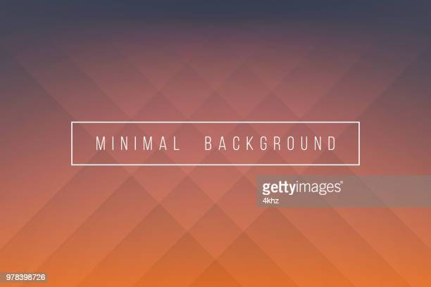 basic orange minimal elegant abstract lineer crease pattern vector background - crumpled stock illustrations