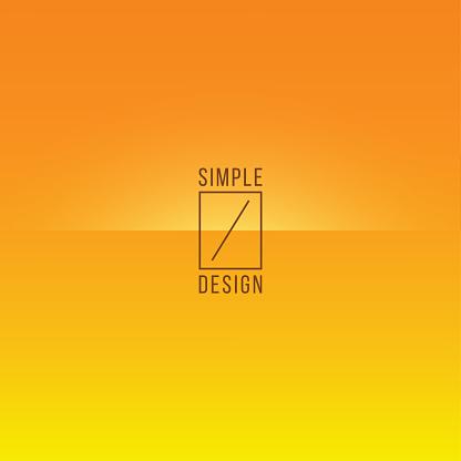 Basic Orange to Yellow Minimal Crease Line Pattern Vector Background - gettyimageskorea