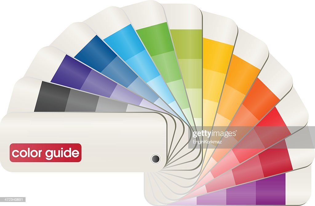 Basic Pantone PMS color matching guide