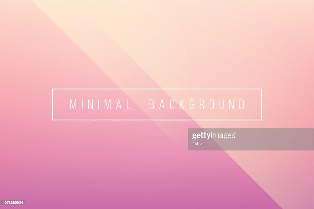 Basic Pink Minimal Elegant Abstract Lineer Crease Pattern Vector Background : stock illustration