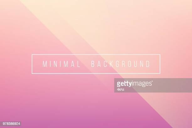 illustrazioni stock, clip art, cartoni animati e icone di tendenza di basic pink minimal elegant abstract lineer crease pattern vector background - semplicità