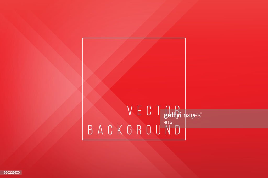 Basic Red Minimal Elegant Abstract Lineer Crease Pattern Vector Background