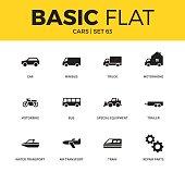 Basic set of car icons