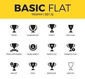 Basic set of Trophy icons