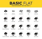 Basic set of weather bonus icons