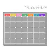 basic vector calendar icon