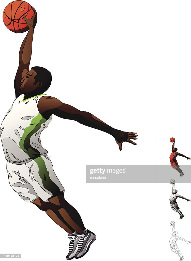 Baskeball Player : stock illustration