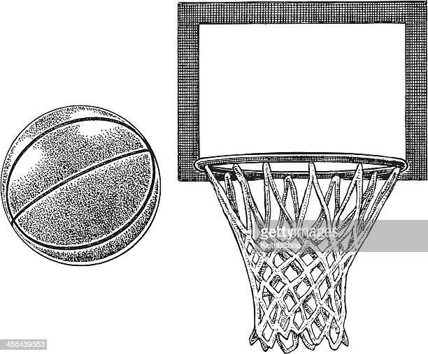 Tablero de baloncesto y equipos -Sports de bola