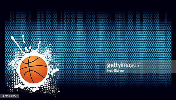 ilustraciones, imágenes clip art, dibujos animados e iconos de stock de fondo de baloncesto - baloncesto