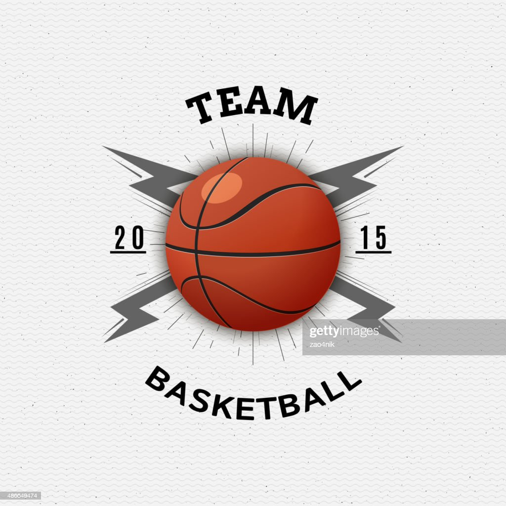 Basketball badges logos and labels for any use