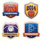 Basketball Badges