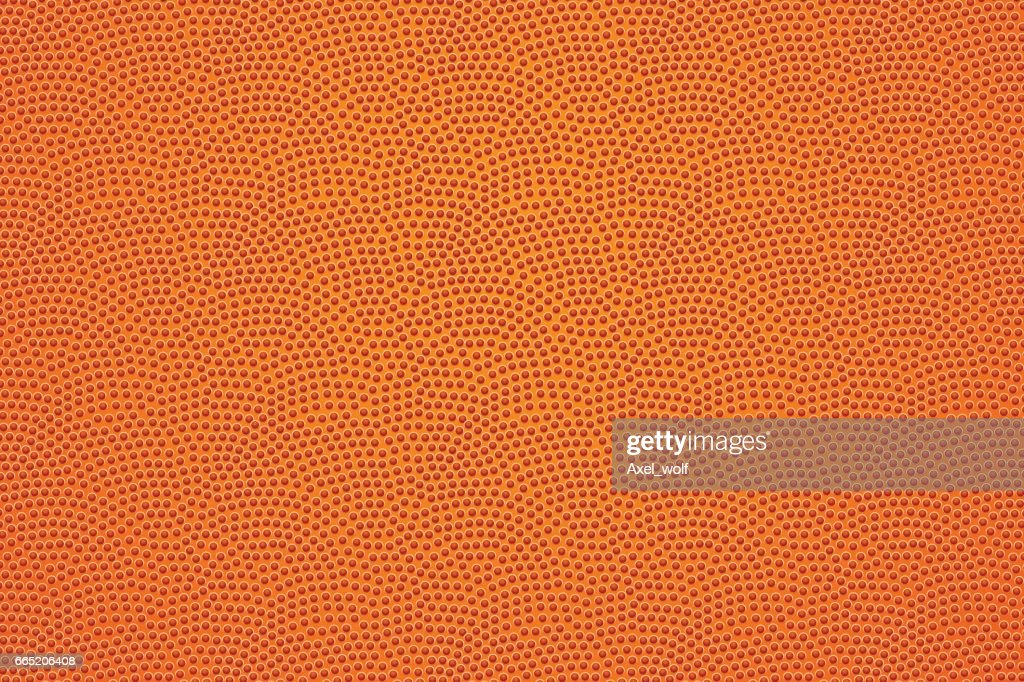 Basketball ball leather pattern