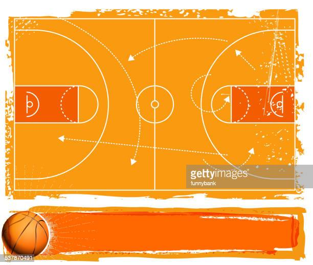 basketball banner - basketball ball stock illustrations, clip art, cartoons, & icons